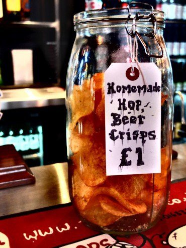 DSCF9024 Medium 370x4941 1 - The perfect bar snack - crisps but not like crisps you have had before hop infused crisps - Andrew Wilcox DOT Net