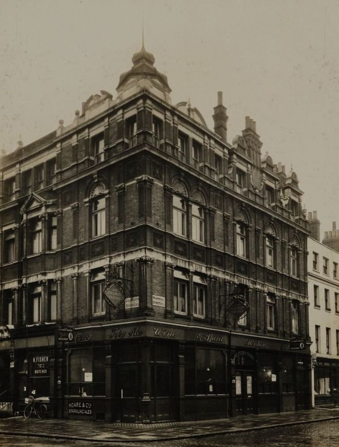 87130225 fitzorytavern 1 - Pub pictures saved from London skip displayed online