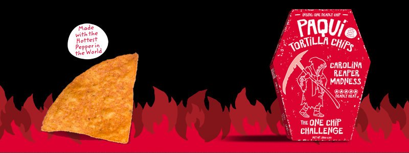 one chip challenge 1 - PAQUI - Gourmet Tortilla Chips - #OneChipChallenge