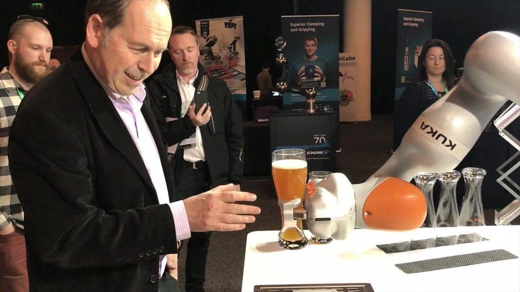 95305899 p04xxh1m 1 - Robotic barman pours Rory a pint