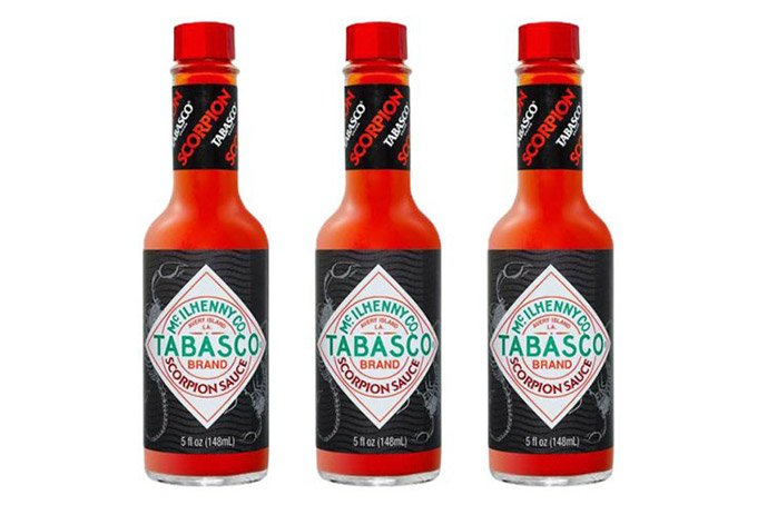 Tabasco Scorpion Sauce nearly 20times hotter than Original Red 1 - TABASCO® Scorpion Sauce