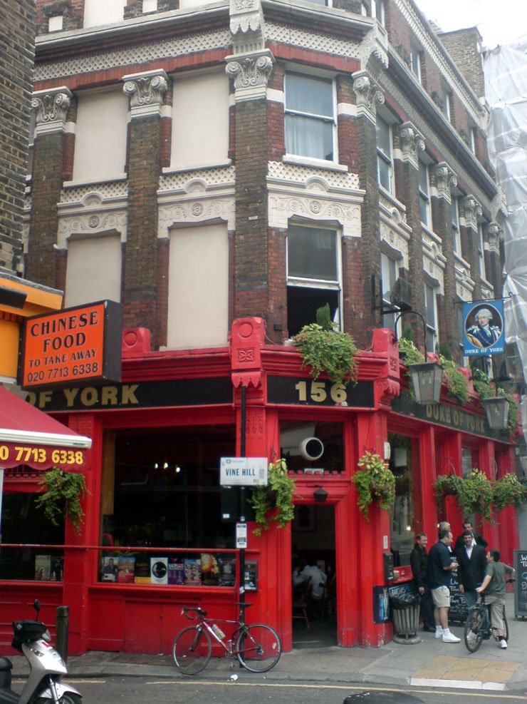 Duke of York Clerkenwell London Pub Review - Duke of York, Clerkenwell, London - Pub Review