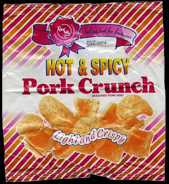 Green Top Snacks Hot Spicy Pork Crunch Review - Green Top Snacks, Hot & Spicy Pork Crunch Review