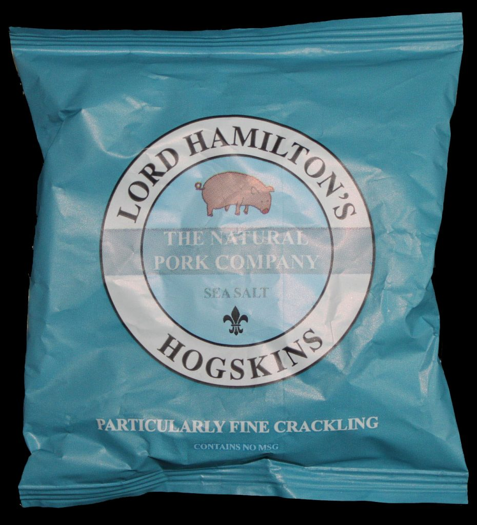 Lord Hamiltons Hogskins Sea Salt Particularly Fine Crackling Review 930x1024 - The Rise and Rise of Luxury Pork Scratchings