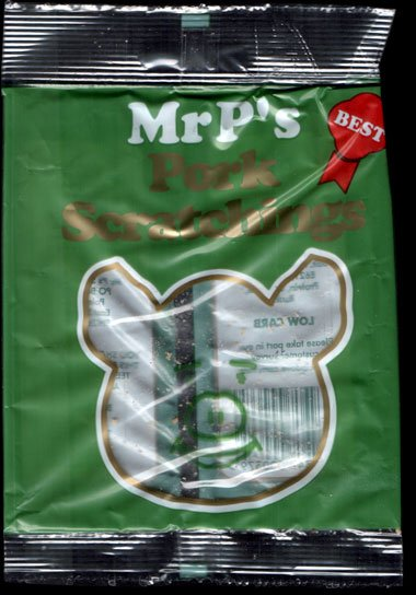 Mr Ps Pork Scratchings Review - Mr P's, Pork Scratchings Review
