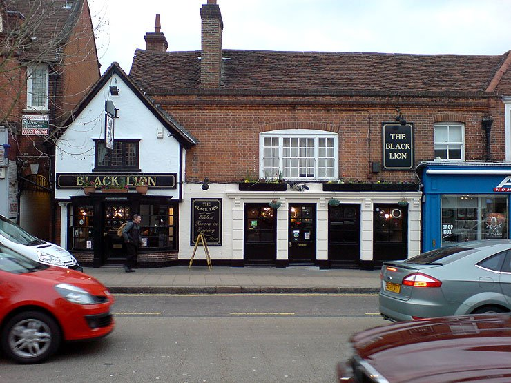 The Black Lion Epping Essex Pub Review - The Black Lion, Epping, Essex - Pub Review