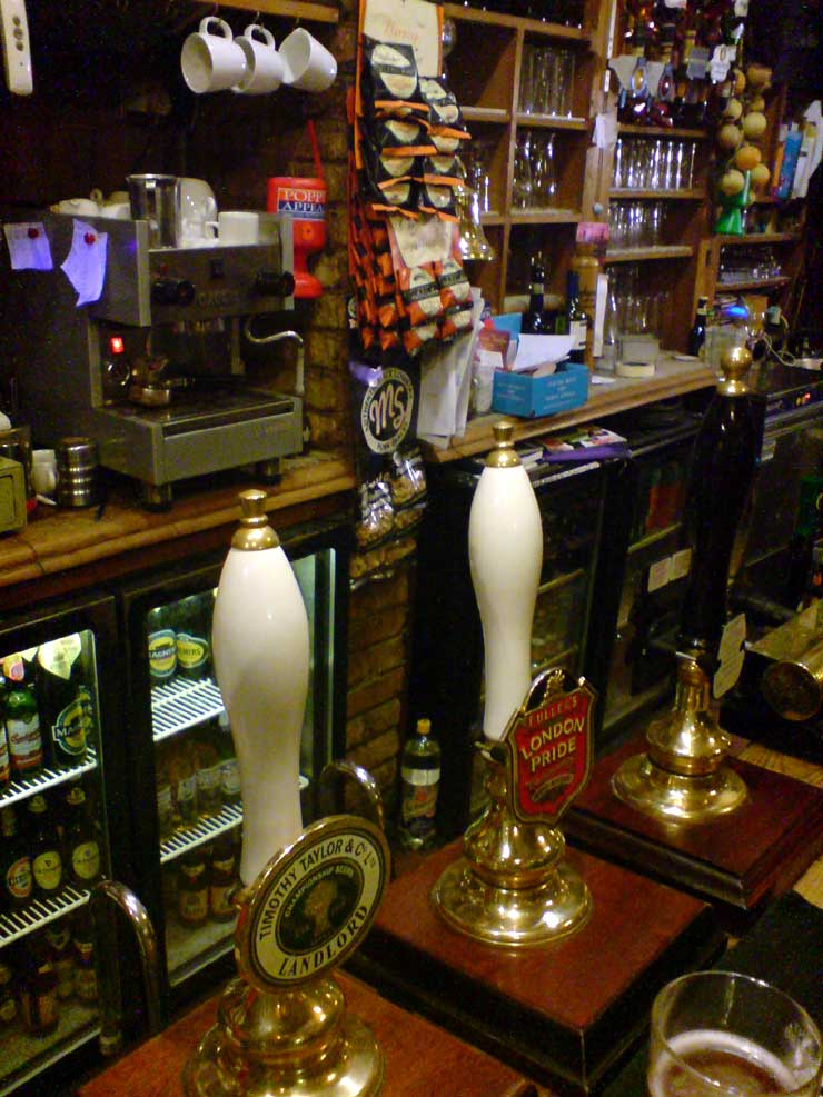 The Blue Posts Piccadilly London Pub Review2 - The Blue Posts, Piccadilly, London - Pub Review