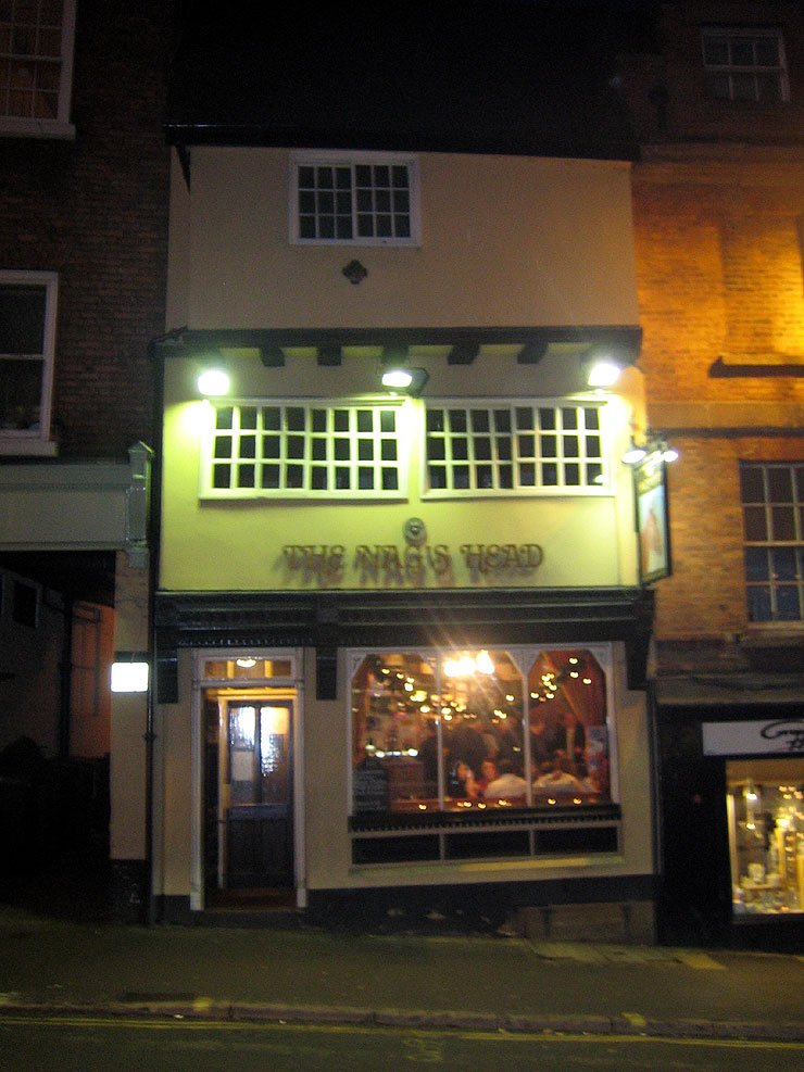 The Nags Head Wyle Cop Shrewsbury Pub Review - The Nags Head, Wyle Cop, Shrewsbury - Pub Review