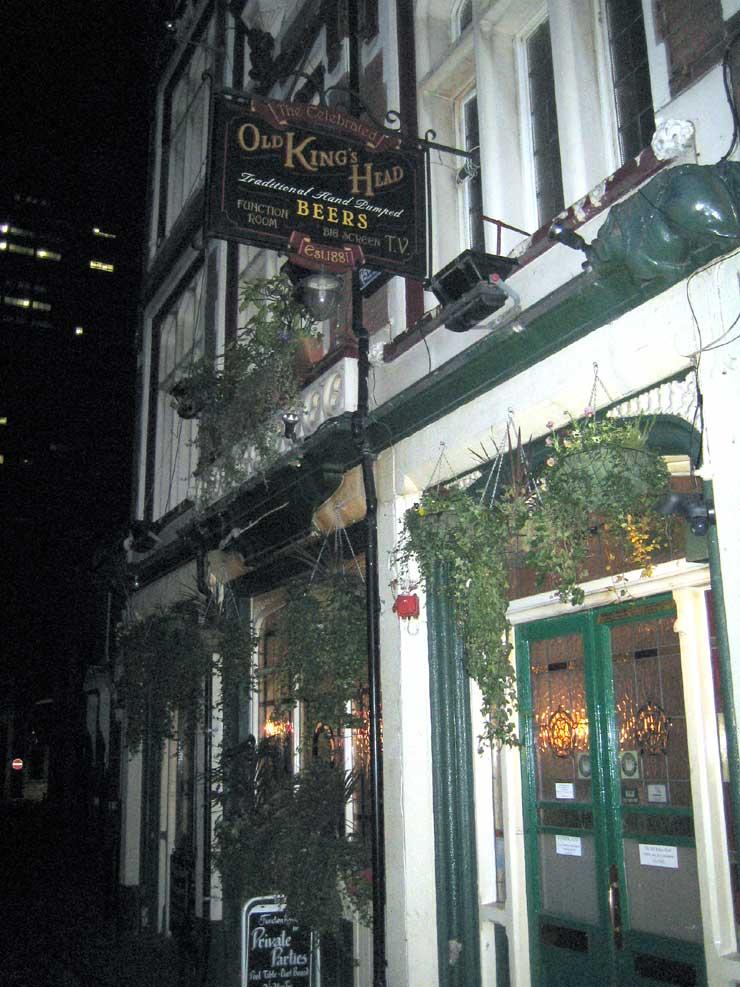 The Old Kings Head London Bridge London Pub Review - The Old Kings Head, London Bridge, London - Pub Review