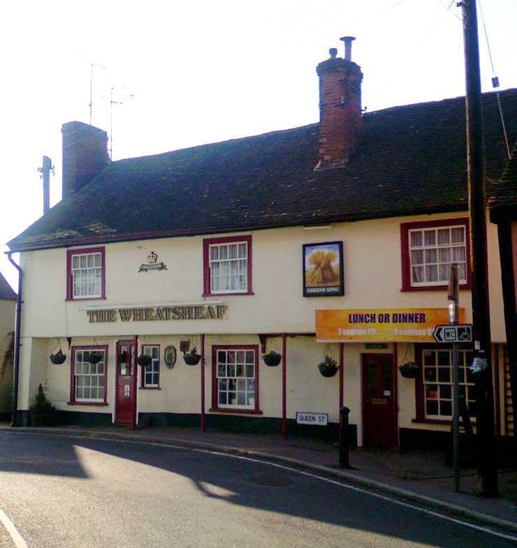 The Wheatsheaf Castle Hedingham Essex Pub Review - The Wheatsheaf, Castle Hedingham, Essex - Pub Review