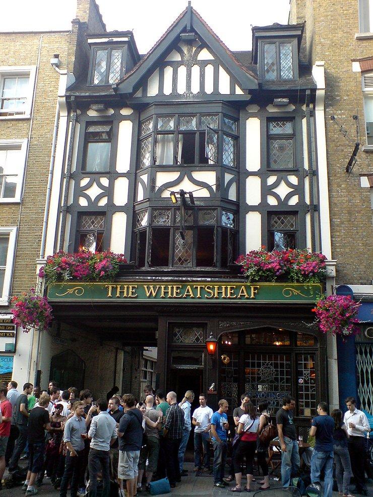 The Wheatsheaf Soho London Pub Review - The Wheatsheaf, Soho, London - Pub Review