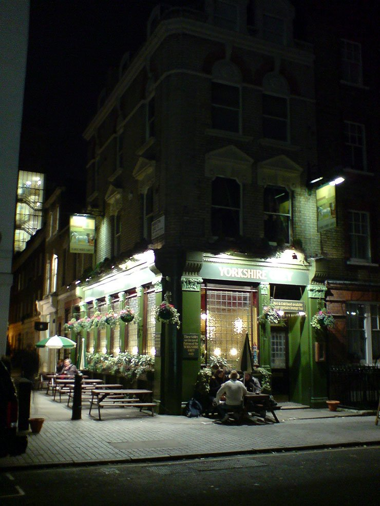 The Yorkshire Grey Fitzrovia London Pub Review - The Yorkshire Grey, Fitzrovia, London - Pub Review