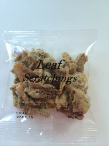 not leaf scratchings - Leaf Scratchings from Coopers Family Butchers, Darlaston, West Midlands