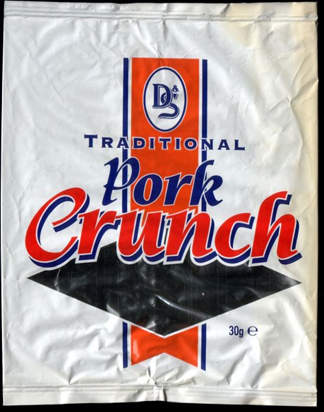 D S Foil Pack Traditional Pork Crunch Review - D & S, Foil Pack, Traditional Pork Crunch Review