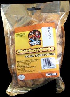 Familia Foods Chicarones Spicy Flavour Pork Scratchings Review - Familia Foods, Chicarones, Spicy Flavour Pork Scratchings Review