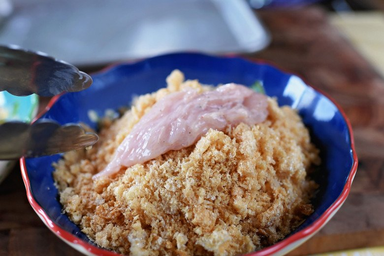 Pork Rind/Crunch Chicken Strips Recipe