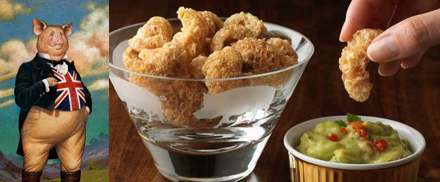 mr trotter plus dip - The Rise and Rise of Luxury Pork Scratchings